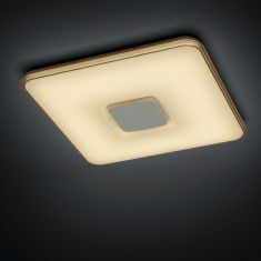 LED-Deckenleuchte - 50 Watt LED, Inklusive Fernbedienung