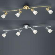 LED-Deckenstrahler Levisto - 4-flammig