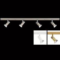 LED-Decken-Strahlerbalken 4-flammig - 3 Oberflächen