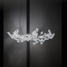 LED-Designer-Pendelleuchte Hanami von Slamp
