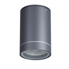 LED-Downlight aus Aluminium - Anthrazit  Anbau - Unterbauleuchte inklusive  7Watt LED, 2800°K anthrazit