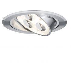 LED-Einbauleuchte in Aluminium, 3W LED, schwenkbar