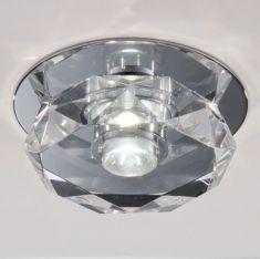 LED-Einbauleuchte mit Kristallglas1 x 6 Watt LED, IP44