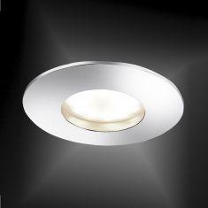 LED- Einbaustrahler in Chrom - inklusive 5,5 Watt LED - 4-stufig dimmbar - Ø 8,3 cm