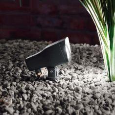 LED-Erdspieß-Strahler, schwenkbar, LED 5 Watt