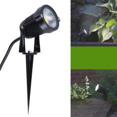 LED-Gartenleuchte Erdspieß McShine+ Spannungsprüfer Gratis