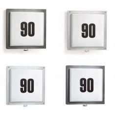 LED-Hausnummernleuchte mit Infrarot-Sensor, in vier Varianten