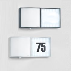 LED-Hausnummernleuchte mit Sensor - in 2 Farben