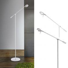 LED-Leseleuchte in Weiß oder Aluminiumfarben