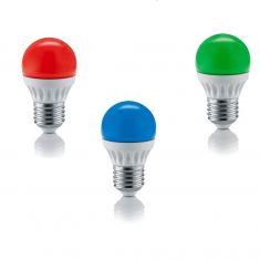 LED- Leuchtmittel - E27- Fassung  4 Watt - 200 Lumen -  3 Farben zur Auswahl