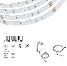 LED-Lichtband mit RGB-Farbwechsel 5 m - inklusive 150 LEDs und Fernbedienung