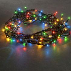 LED-Microlight-Lichterkette für Außen, Bunt - 8 Funktionen-Steuergerät und Memoryfunktion - 100 oder 180 Birnen