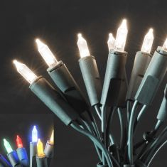 LED-Minilichterkette für den Innenbereich - 140 LED-Dioden - 230 V - One String - 8 Funktionen - warmweiss oder bunt