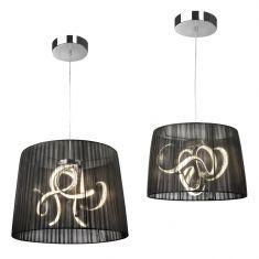 LED-Pendelleuchte Organza LED in zwei Größen