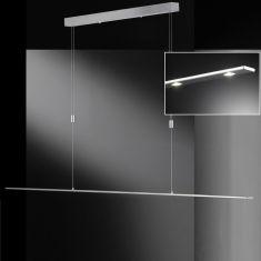 LED-Pendelleuchte Vilde 180 cm, höhenverstellbar 4-flg.