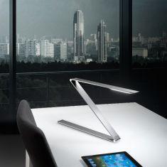 LED-Schreibtischleuchte in anthrazit, verstellbar, Touchfunktion