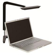 LED-Schreibtischleuchte für Bildschirmarbeitsplätze, Schwarz