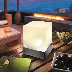 LED-Solarleuchte Cube in zwei Größen