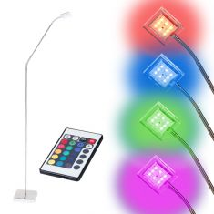 LED-Stehleuchte mit RGB-Farbwechsler