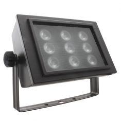 LED-Strahler mit 9 Power LEDs in Schwarz oder Weiß