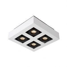 LED-Strahler Xirax von Lucide in schwarz/weiß, verschiedene Ausführungen
