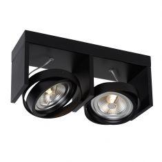 LED-Strahler Zett-LED von Lucide 2-flg. in 4 Farben