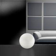 LED- Tischleuchte Ø 25 cm - mit RGB-Farbwechsel - inklusive Fernbedienung