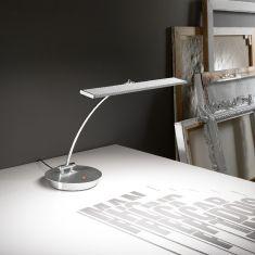 LED-Tischleuchte in Aluminium mit Touchfunktion