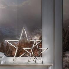 LED-Tischleuchte Lucy in Sternform, zwei Größen