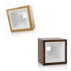 LED-Tischleuchte - Holz in 2 Farben - LED 2,5 Watt