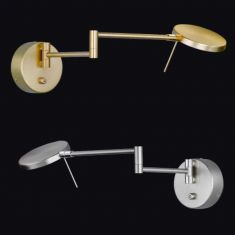 LED-Wandlampe Sole - dimmbar und schwenkbar