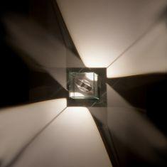 LED-Wandleuchte Logos 12 Cube Out LED