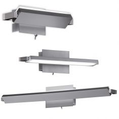LED-Wandleuchte Pare schwenkbar, 3 Größen