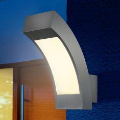 LED-Wandleuchte, Aluminium anthrazit eloxiert, 2,7 Watt, LED
