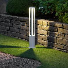 LED-Wegeleuchte 10W in weiß+ Gratis Spannungsprüfer