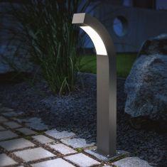 LED-Wegeleuchte in anthrazit 2 Höhen, Lichtfarbe kaltweiß