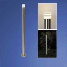 LED-Wegeleuchte für den Außenbereich in schlankem Design , Höhe 105 cm, für 1x GU10LED max.6Watt