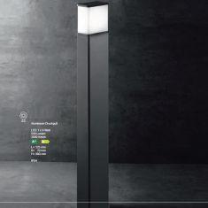 LED-Wegeleuchte Luka T Alu-Druckguss grafit, 90 cm