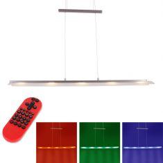 LED-Zugpendelleuchte Lola Nele mit RGB und CCT und Fernbedienung