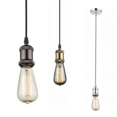 Leuchtenpendel inklusive 60W Rusika Leuchtmittel