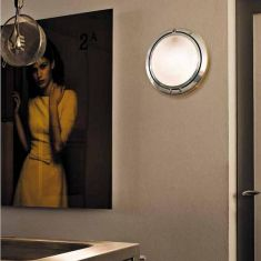 Luceplan Metropoli 56 cm - mit opalfarbigem Kunststoffglas - verschiedene Oberflächen