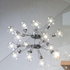Lumina Matrix Doppia Pendelleuchte - in schwarz oder Nickel-matt