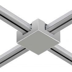Magnetline Universal-Verbinder in matt silber oder Chrom
