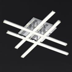 Mikado LED-Deckenleuchte 55 x 55 cm