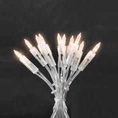 Minilichterkette Innen 35 klare Birnen, Gesamtlänge 8,10 Meter