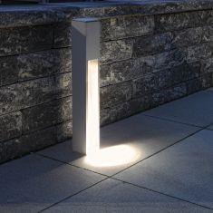 Mit einseitigem Lichtaustritt Wegeleuchte aus Alu