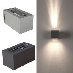 Moderne Effekt-Aussenlampe Joy - 2 Farben