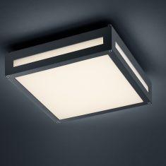 Moderne LED-Außen-Deckenleuchte Newa- Anthrazit 1x 13,5 Watt, anthrazit