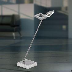 Moderne LED-Tischleuchte Nickel-matt mit 2 x LED 2,5W
