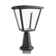 Moderne Sockelleuchte für den Außenbereich - LED - Aluminium - Kunststoff - Schwarz - Inklusive LED 1 x 4,5 Watt 430 Lumen